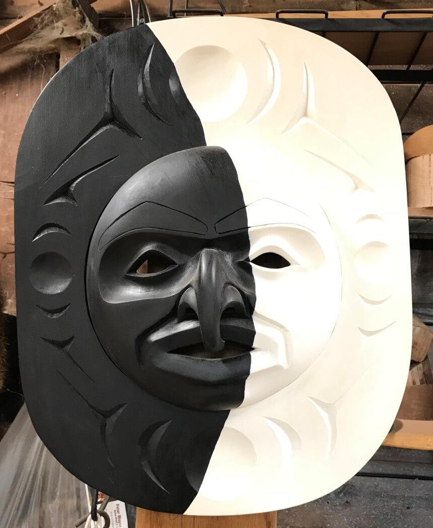Mask design by Peter Wayne Gong