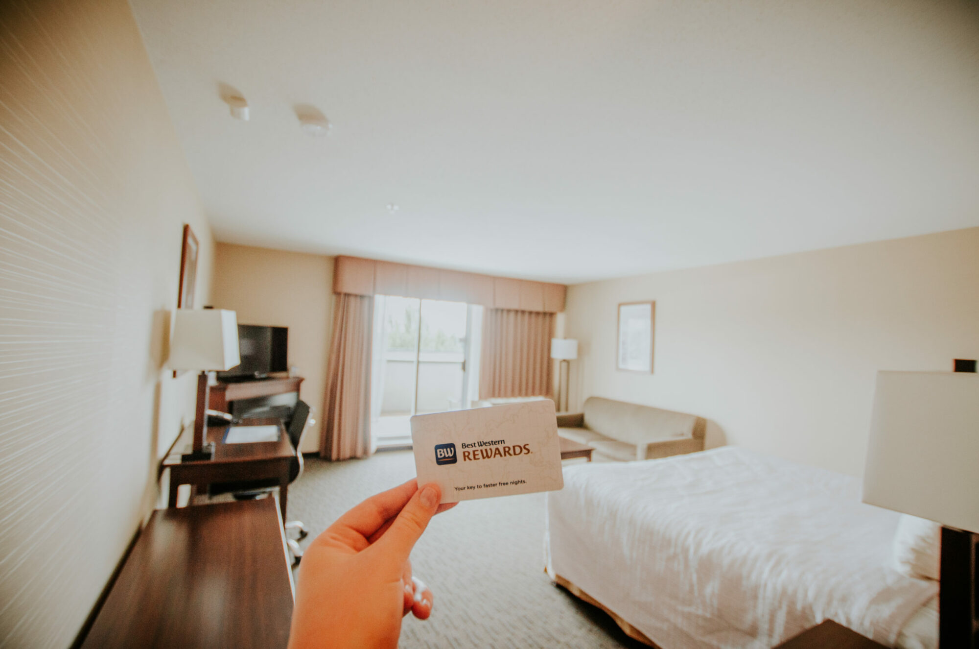 Best Western Business Executive Suite Room Key in Mission